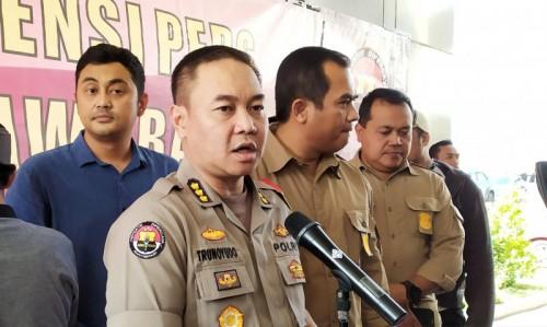 Kabidhumas Polda Jawa Barat, Kombes Trunoyudo Wisnu Andiko. (ANTARA/Bagus Ahmad Rizaldi)