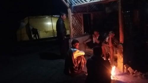 Minimalisir Kejahatan di Bulan Suci Ramadhan, Warga Kampung Sayuran Melakukan Ronda Malam